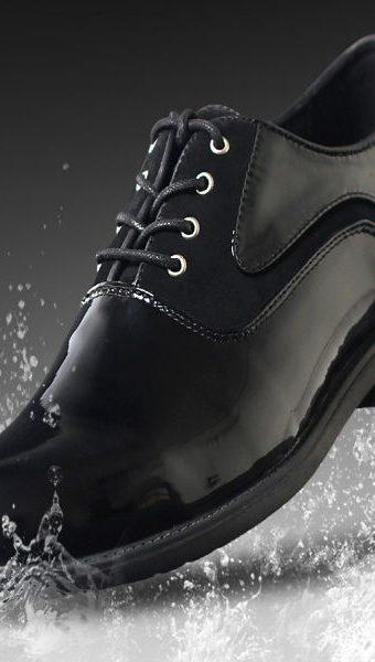 waterproof-leather-shoes-black-rain-wet